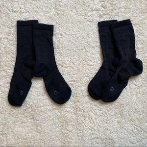 Lululemon Black Sock Bundle 4 pairs